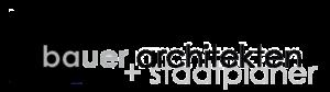 Logo bauer architekten