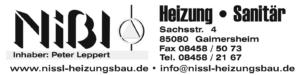 Logo Nißl Heizung Sanitär